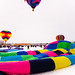 Colorful Hot Air Ballons in Hudson, WI