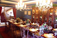 """Southfork Dining Room In Dallas From """"Dallas"""" (FLS Gallery) Tags: beautiful landscapes pretty seascapes florals"""