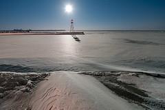 K7_24468 (Bob West) Tags: longexposure nightphotography winter moon lighthouse ontario ice beach night lakeerie greatlakes fullmoon moonlight nightshots startrails k7 erieau 12c southwestontario bobwest pentax1224 eastlighthouseerieau