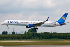 D-ABOI Condor 757-300W Dusseldorf (rmk2112rmk) Tags: plane airport aircraft aviation boeing condor dusseldorf 757 airliner 757300 753 dus boeing757 civilaviation eddl boeing757300 daboi 757300w