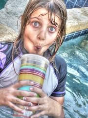 Thirsty Day (Spebak) Tags: drink blueeyes blond blonde southerncalifornia tonemapped spebak outdooroutdoorscaliforniasocalpoolcoachellavalley2014marchspring
