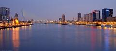Rotterdam (Arnold van Wijk) Tags: city haven netherlands skyline buildings geotagged harbor rotterdam nederland stad architectuur erasmusbrug kralingen gebouwen nld provinciezuidholland fujixt1 geo:lat=5191675938 geo:lon=449590847
