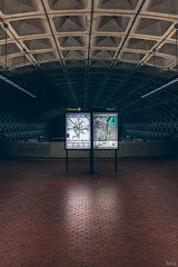 Capturing the DC Metro (MEDIAvomit) Tags: green architecture modern dc washington metro modernism brutalism brutalist