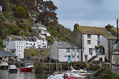Polperro, Cornwall (DaveJC90) Tags: camera new old blue light sea sky blackandwhite bw cliff cloud sun sunlight white holiday black colour detail building slr classic beach water beautiful beauty rain rock modern digital river easter grey bay coast town photo movement nikon cornwall colours village bright cloudy photos picture sunny move villages sharp snaps rainy crop coolpix april dull croped sharpness s9100 d5100