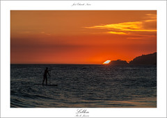 Leblon, Rio de Janeiro (José Eduardo Nucci Photography) Tags: ocean sunset praia beach sports nature rio brasil riodejaneiro mar google nikon natureza ação pôrdosol esportes 28300mm gettyimages leblon d800 standuppaddle brasilemimagens