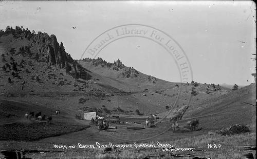 Photo - Second city reservoir excavation