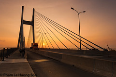 _DSC6245-Edit.jpg (womofa) Tags: road street travel bridge sky abstract detail tower water lines metal skyline architecture modern truck sunrise asian concrete dawn high swan wire construction highway asia vietnamese cross traffic angle suspension path top steel transport pillar wide perspective engineering cable rope structure pylon vietnam deck architect anchorage transportation hanging tall circulation heavy suspensionbridge hochiminhcity connection saddle connect stayed indochina superstructure cablestayed suspender foundationpylon centerspan sidespan stiffenggirder