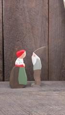 forest mama and papa (prettydreamer.workshop) Tags: artdoll montessori ecofriendly elsabeskow woodtoys naturalparenting childrenoftheforest waldorftoys waldorfnaturetable