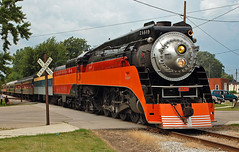 One last time in Mid-Michigan. (CSXT 700) Tags: sp southernpacific 4449 sp4449 484 daylight ashleymi trainfestival2009