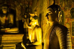 Dambulla Cave Temple (alisdair jones) Tags: ef35mmf14lusm buddha statues carvings paintings cave temple dambulla srilanka
