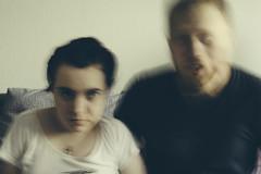Ideal photo (donnicky) Tags: 50mm mariiabobrovskaia nikolaybobrovskiy couple ghost home husbandwife portrait publicsec sofa lookingatcamera