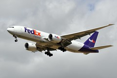 N890FD (airlines470) Tags: fedex 777 cdg 41439 n890fd