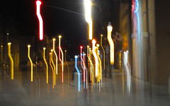 Stick People or Aliens? (cjh44) Tags: henrys night photoshoot downtown kingston ontario brockstreet longexposure