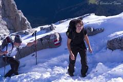 Ascent to Hocheck, Watzmann (Bernhard_Thum) Tags: mountains alps berge mountaineering alpen alpinism carlzeiss bergsteigen zm watzmann alpinismus berchtesgadeneralpen sonnart285 bernhardthum