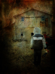 At the End of it All (Nichole Renee) Tags: abandoned apocalypse story end horror textured distressedjewell
