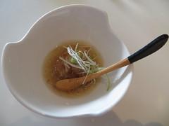 4. Lotus manju, Ko Restaurant (Joel Abroad) Tags: food japanese hawaii lotus vegetable honolulu manju kaiseki tastingmenu kaimuki korestaurant