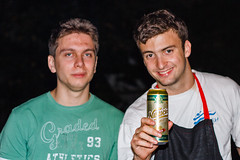 Rostilj [ Rodjendan ] @Tresnja (ntrifunovic) Tags: friends party two portrait man male beer smile face smiling closeup night happy young barbecue cheerful rodjendan avala djordje niksicko ceka vikendica rostilj tresnja djoka