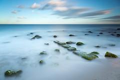 Urbanova (raul_lg) Tags: sea espaa verde canon landscape mar spain agua rocks paisaje alicante lee rocas largaexposicion urbanova raullopez canon25105 5dmarkiii leebigstopper raullg singhrayreverse3stop 5dmarck3