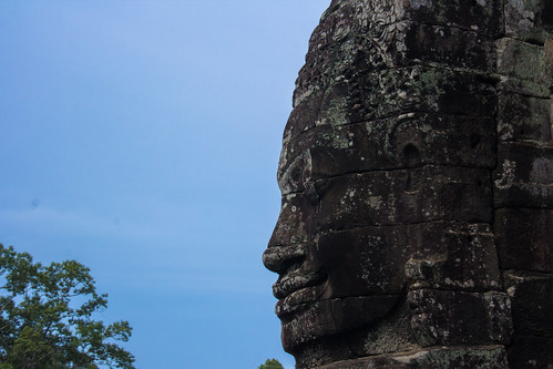 巴戎寺头像 | Face at Bayon Temple