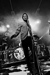 Vintage Trouble (dangrahamphotography) Tags: uk music white man black guy night newcastle lights singing gig livemusic northumbria gigs drummer nightlife uni northeast digitalcameraclub blackwhitephotos dangrahamphotography dangrahamphotographycom