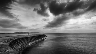 Lyme Regis bw
