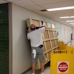 A proper crate adds to the safety of delivery - CFMS professional at work