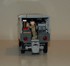 Fordson WOT 6 type M (LegoEng) Tags: 6 army lego wwii ww2 british wot fordson reme legoeng