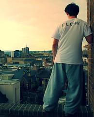 Looking amongst the city (Jack Jessop15) Tags: old city roof flow gate freerunning scape missions parkour huddersfield hudzdem