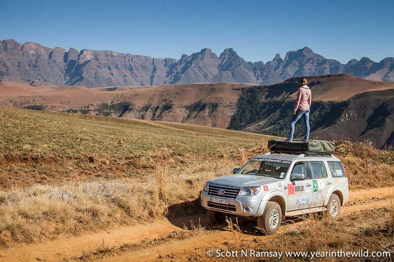 uKhahlamba-Drakensberg - copyright Scott Ramsay - www.yearinthewild.com-4