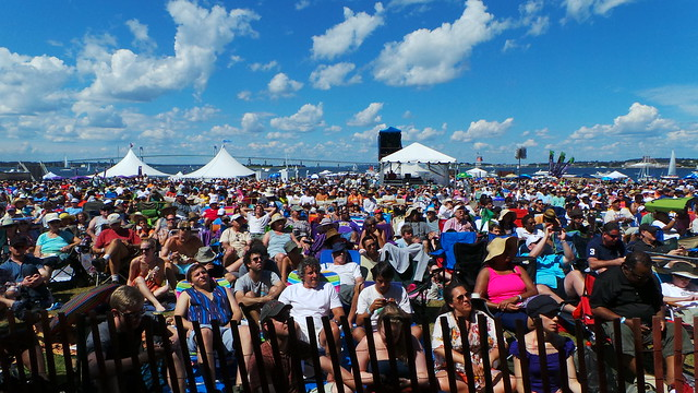 Crowd at Newport Jazz Festival 2013