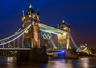 London - Tower Bridge, Olympic Rings