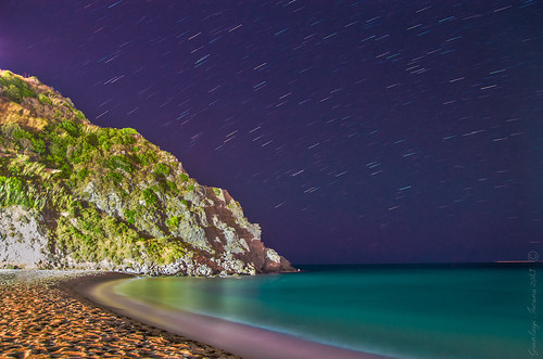 Starry night in Ischia