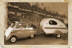 Renncaravan - racing caravan