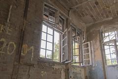 fenster (Stephan Albinus) Tags: berlin lost place brandenburg fototour grabowsee heilsttte tuberkolose