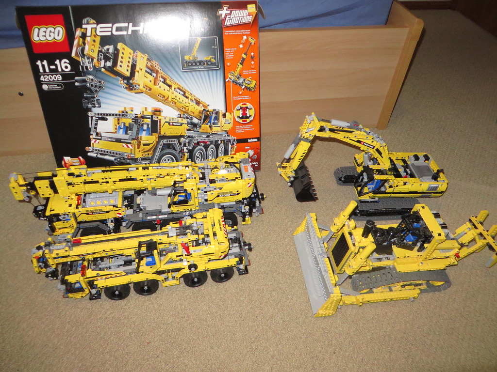 lego technic 42009 b model instructions