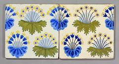 William Morris 'Daisy' tiles (robmcrorie) Tags: holland london netherlands century tile ceramic design crafts arts william pot daisy pottery morris copy 20th 19th williammorris