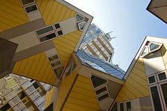 Kubuswoningen - Rotterdam (Jan Bogers) Tags: holland rotterdam nikon nederland eu cube lecorbusier maison paysbas d800 kubus zuidholland woning pietblom paalwoning janbogers boomwoning