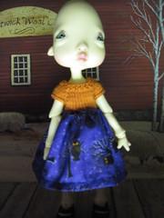 Happy Halloween from Estelle (lovetherain-gina) Tags: halloween ball doll bjd resin kane humpty estelle jointed nefer lovetherain