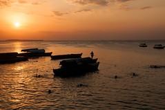 Sunset at Zanzibar port (xhunter83) Tags: sunset sea tanzania mar zanzibar abigfave