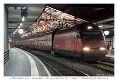 IR 2545 - Re 460 106 - Lausanne (CC72080) Tags: lausanne cff re460 interrégio