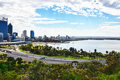 Perth City Skyine #3 (chooyutshing) Tags: australia perth kingspark westernaustralia cityskyline 6december2013