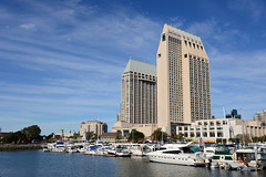 (Trent Bell) Tags: california skyline marina cityscape sandiego embarcadero 2013 sandiegocityscape