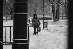 22.01.14a (niemajakspojrzenie) Tags: winter people blackandwhite blackwhite 85mm unposed unexpected citywalks a500