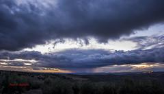 Lluvia sobre la campia (Juan A. Bafalliu) Tags: lluvia enero nubes invierno puestadesol campiacordobesa