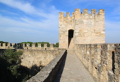 Lisboa - Lisbona (Kristel Van Loock) Tags: travel castle portugal europa europe lisboa lisbon castelo lissabon castello viaggio lisbona portogallo kasteel capitalcity citytrip