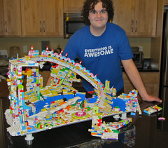 Everything is Awesome: When kids actually play with a MOC. (Imagine™) Tags: lego destruction cloudcuckooland imaginerigney thelegomovie playablelegomoc