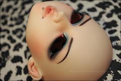Face-up: Luts DELF Chiwoo (asai.nemuri) Tags: ball asian toy doll paint artist dolls wip hana bjd custom luts delf commission abjd aesthetics jointed balljointed bjds faceup chiwoo abjds shallowsleepaesthetics asainemuri