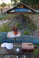 Near Chong Sa Ngam Pass, Pol Pot cremation site (blauepics) Tags: mountains thailand death site cambodia kambodscha border suicide pass berge pot sa dictator chong tod cremation pol grenze veng selbstmord diktator dangrek ngam anlong verbrennungsstelle