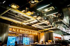 N.Y Bagels Cafe (David C W Wang) Tags: ny cafe taiwan taichung bagels   sonyrx100ii
