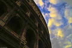The Coliseum (Cristiano Drago) Tags: sky roma clouds canon nuvole nuvola cielo coliseum colosseo blondegirl ilobsterit cristianodrago